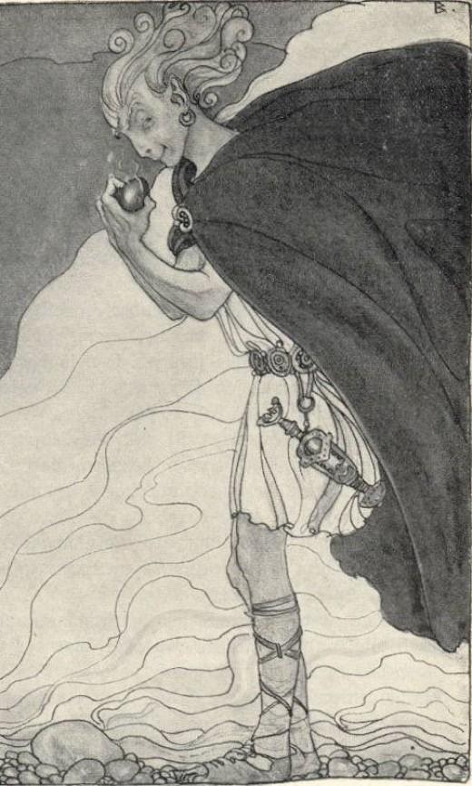 Loki, Trickster and God of Evil
