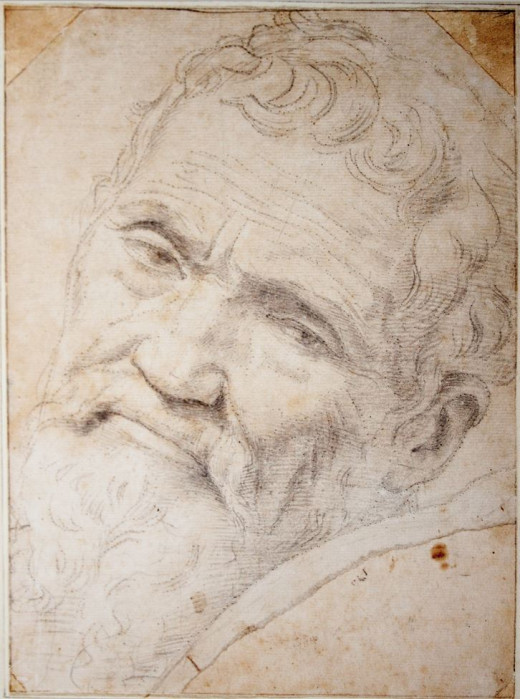 Michelangelo portrait by someone else.