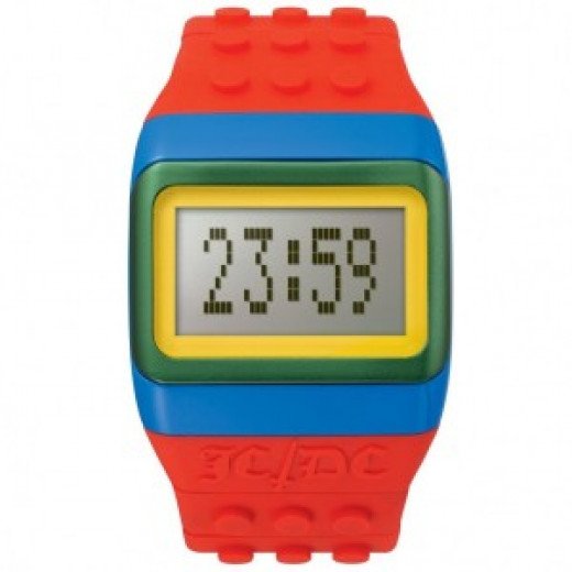 JCDC Pop Hours Lego Style Watch