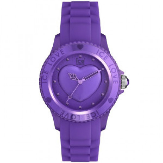 Purple Love Ice Watch