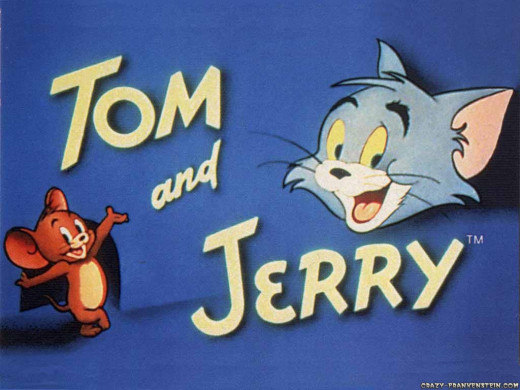 Classic Tom and Jerry opening shot
