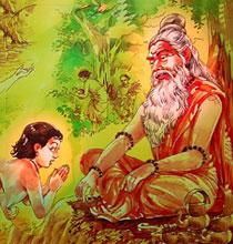 Satyakama and Gautama