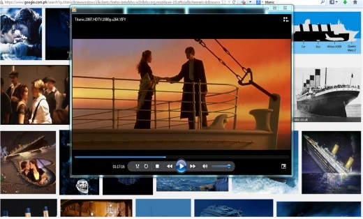 """Screen shot from the movie """"Titanic"""""""
