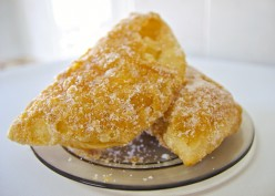 Portuguese Recipes: Azevias de batata doce, a delicious traditional sweet.