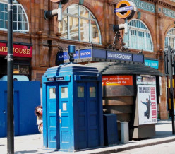 The Adventures of Doctor Who in London