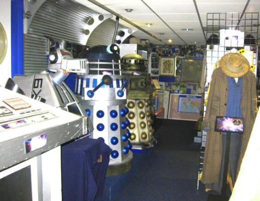 Dr Who Souvenirs