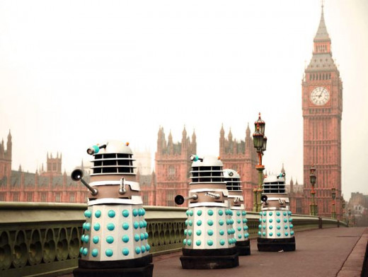 The Daleks Attack, 1964
