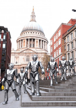 The Cybermen near St Paul's, 1968