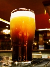 Yup, beer is on tap in Irish pubs!
