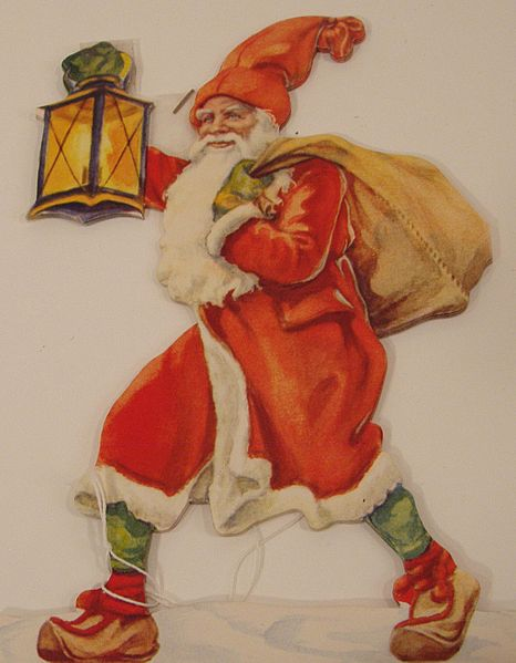 Santa has been around for a long time and in many countries.