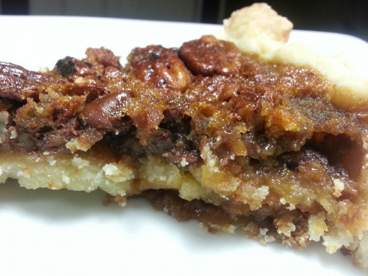 Michele Albano chocolate chip bourbon pecan pie