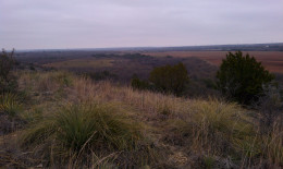 From this bluff, you can see for miles. When I took this picture, I knew it would be the location for my wedding someday.
