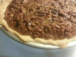 Michele Albano chocolate chip bourbon pecan pie