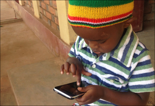 Exposing children to mobile phones exposes them to cell phone radiation