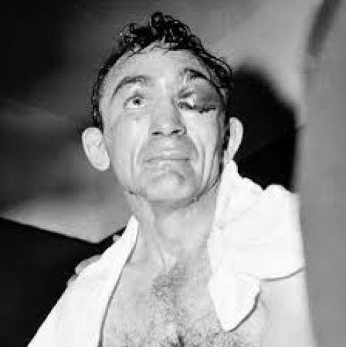 Carmen Basilio was involved in the Fight of the Year from 1955-1959.