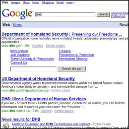 NSA. Humor - I am extremely terrified of Google...