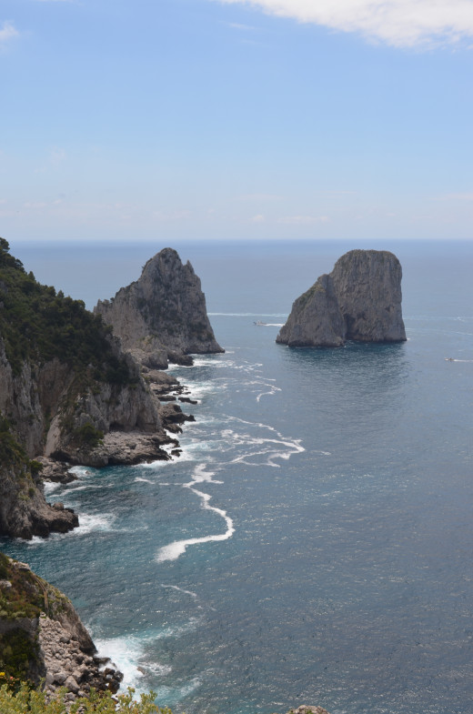 From the lookout on Capri from Tony DeLorger