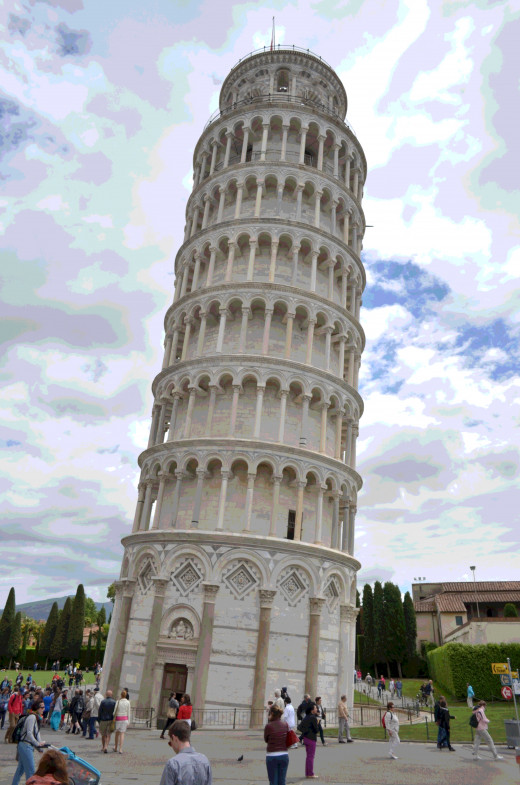 Tower of Piza from Tony DeLorger