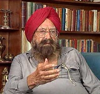 Khushwant Singh, An Indo-Anglian novelist and the most famous Sikh Writer
