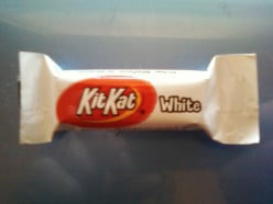 Did you know that KitKat candy bars are now made with white chocolate?