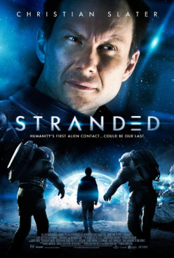 MOVIE: Stranded, Sci-fi Christian Slater - Rated: G- as in Garbage
