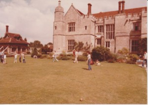 Personal photo of West Garden -yikes, the clothes!