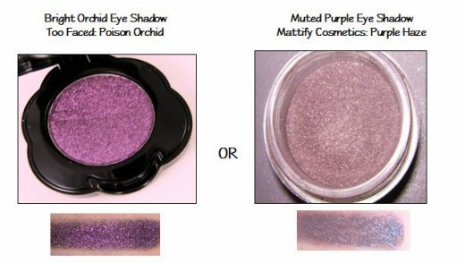 Bright Orchid & Smoky Orchid Eye Shadow