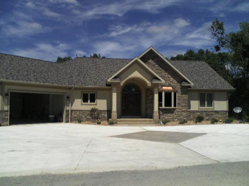 This is one of my recently completed ranch home designs.