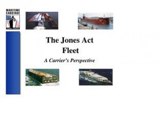 The U.S. carbotage law is commonly referred to as the Jones Act