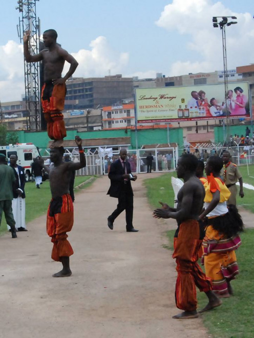 These Young People raise School Fees through Acrobatics