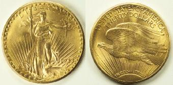 The rare 1933 Double eagle Coin sold for $7.59 Million.