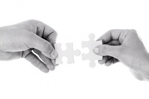 Getting support from someone else can be the missing part of the puzzle in achieving a goal.