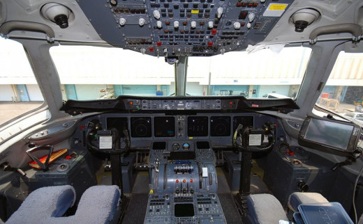 Douglas MD11 Glass cockpit