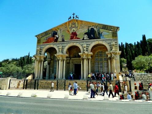 All Nation Church in the garden of Gethsemane