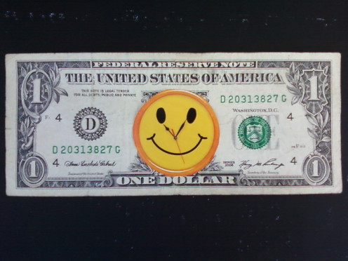 Smiley Face dollars - for markdarmafall