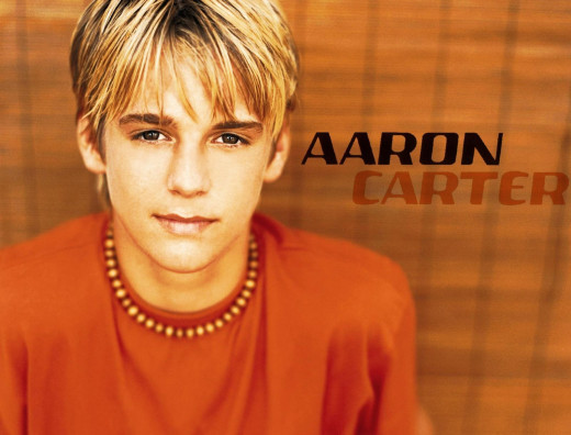 How Aaron Carter looked as a child