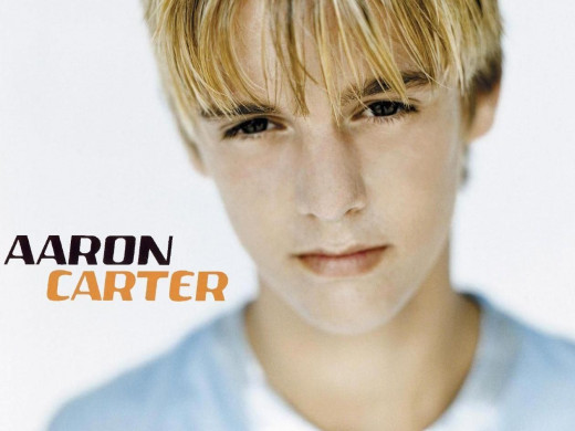 A young Aaron Carter