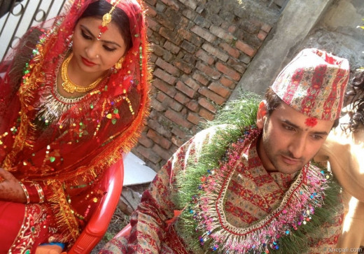 Marriage in nepali culture for Wedding dress nepali culture