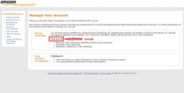 Manage Your Account - Access Identifiers