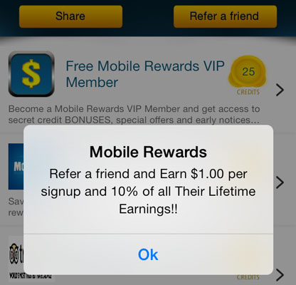 Mobile Rewards is one of the top money making mobile apps.