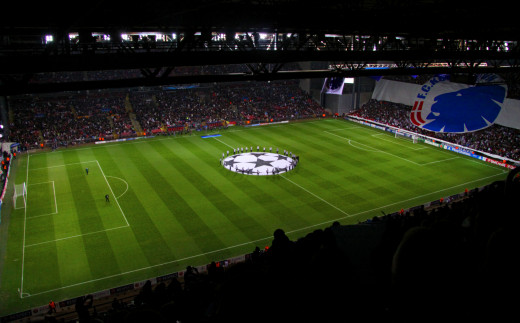FC Copenhagen vs Juventus FC Champions League match, 17 September 2013.
