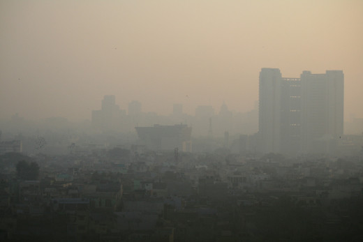 Air Pollution in Delhi is getting worse by the day