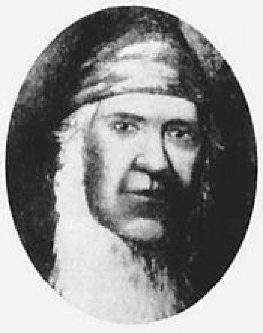 George Rapp was the leader of the Harmonie Society, the religious group that established New Harmony.
