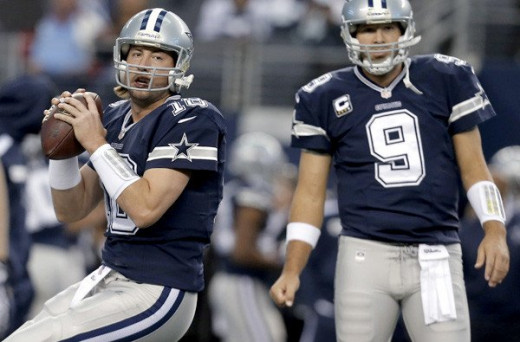 Kyle Orton did his best Tony Romo impersonation with 2 INTs