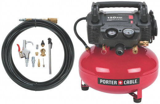 This Porter Cable model is an excellent model with great reviews that fits within the 'portable' class and is very easy to move around. It won't break the bank either, with a current price on Amazon of roughly $115.