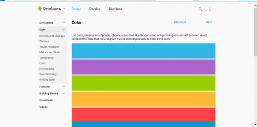 Here, you can find out which colours would be suited best for your application as well as a download for various colour swatches.