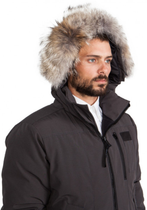 The hood is the main difference between the Borden Bomber and the Burnett Jacket