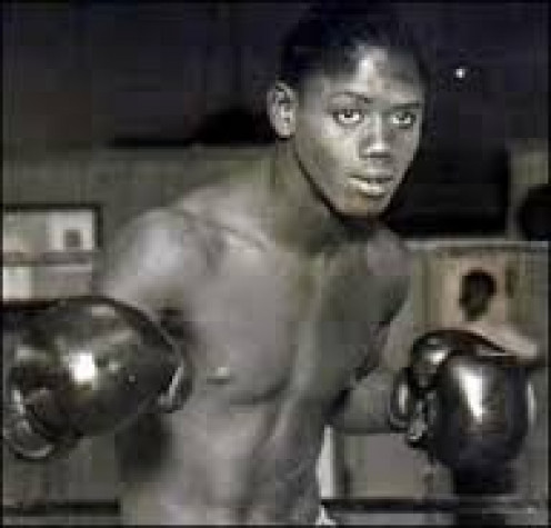 Kid Chocolate from Cuba is a former Jr. Lightweight world boxing champion.