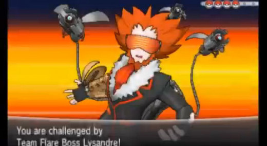 Lysandre thinks he's Doctor Octopus