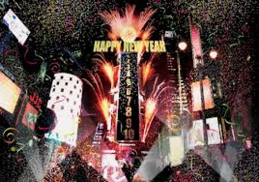 New Year's eve celebrations in New Yorks Times Square has been a tradition since 1907